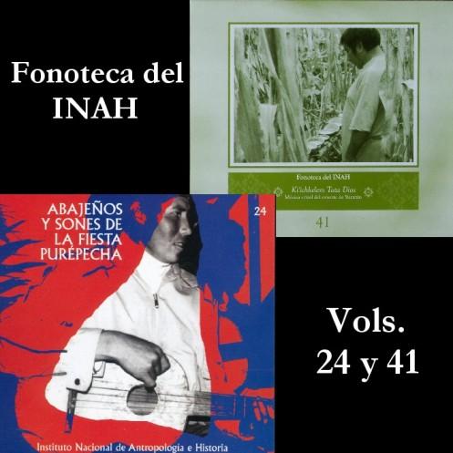 Fonoteca Del INAH Vols. 24 y 41