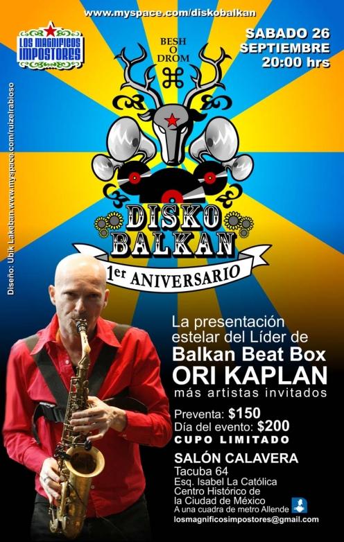 Disko Balkan 1er Aniversario (26/09/2009)